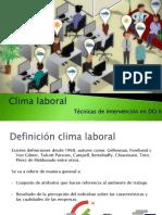 Clima Organizacional DO