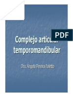Complejo Articular Temporomandibular