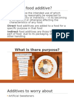 what is a food additive pptx