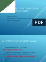 AUTIZMUS SPEKTRUM ZAVAR