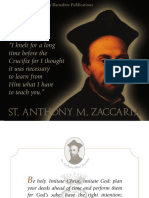 Daily thoughts of St. Anthony Mary Zaccaria for JUNE