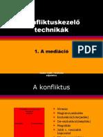 To 03.10 .a Konfliktusok Másfajta Megközelítése - Mediáció