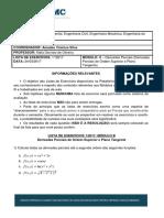 Lista ModuloB ESAMC Calculo III Ordem SUPERIOR plano tangente
