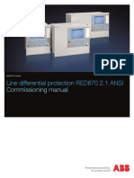1MRK505164-BEN G en Line Differential Protection IED RED670 Pre-configured