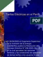 Clase 5 Tarifas Eléctricas2014