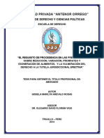 Tesis de Reduccion de Alimentos, Antenor Orrego