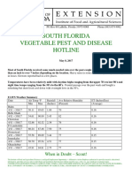 South Florida Vegetable Pest and Disease Hotline for May 8, 2017