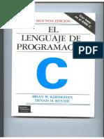El Lenguaje de Programacion C