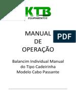 Manual Cadeirinha SUSPENSA