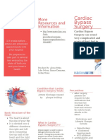 cardiac bypass surgery brochure