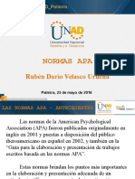 Normas APA - 2016