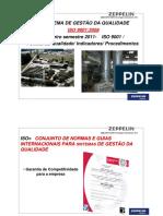 JMBZ QPR 0189R0 Reciclagem Treinamento ISO 9001 2008 Politica Indicadores Procedimentos ZEPPELIN SYSTEMS treinamento