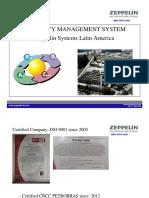 JMBZ QPR 0132R5 Apresentação Qualidade Em Inglês Final ZEPPELIN SYSTEMS treinamento