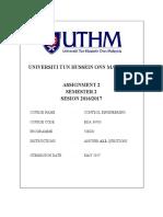 Assignment II