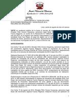 Jurisprudencia 2 - Resolucion 1990 - Chicla-huarochiri-lima