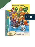o Livro Telecoteco Alfabetização Silábica - Volume 4