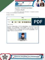 AA1-Evidence 1 My Profile Nicolas
