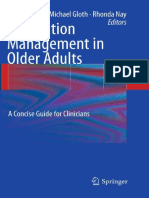 Medication Management in Older Adults - A Concise Guide for Clinicians - S. Koch, Et Al., (Springer, 2010) WW