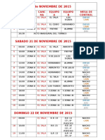 Fixture u 13 2015 El Tala