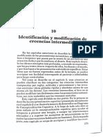 Identificacion y Modificación de Creencias Intermedias