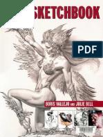 Sketchbook by Boris Vallejo and Julie Bell