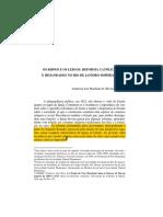 2. OLIVEIRA. Os Bispos e Os Leigos - Reforma Católica e Irmandades No Rio de Janeiro Imperial