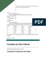 Consultas Union Externa