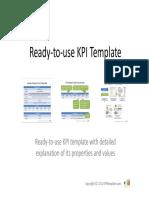 KpiTemplatepdf Performance Indicator Information - Kpi template