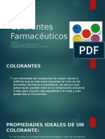 Colorantes Farmacéuticos