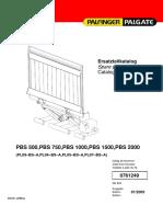 Palfinger Mbb Steuerung PALGATE Technisches Werkstatthandbuch