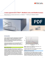 200-Protein quantification BCA™, Modified Lowry and Bradford assays