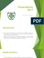Presentación Dpto Educación 2017