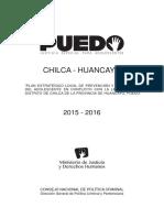 Plan Local Chilca Huancayo 2015