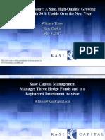Berkshire Hathaway Presentation-Whitney Tilson-Kase Capital-5!4!17