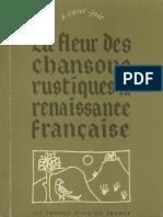 La Fleur des chansons rustiques de la Renaissance francaise-.pdf