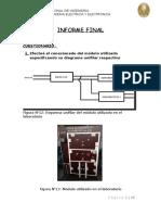 Informe Final Diseño Electrico