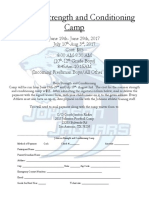 jhs strength and conditioning form 2017