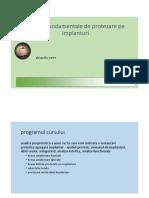 Curs Protezare Pe Implanturi