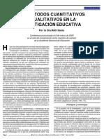 SAUTU-Los Métodos Cuanti y Cuali en La Inv en Educación