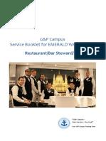 Service Booklet RBS EW