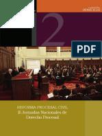 Ponencias Presentadas en Las II Jornadas Nacionales de Derecho Procesal