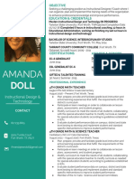 resume for instructional design 1