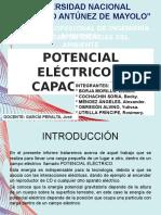 Diapositivas de Potenciales Electrico