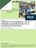 Importancia del sistema y de la industria agroalimentaria en la economía venezolana.pdf