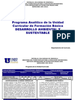 Desarrollo Ambiental y Sustentable Version 5-1