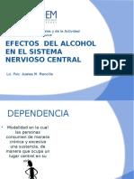 Alcohol en El SNC