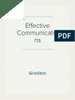 4 - Effective Communication