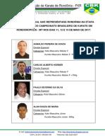 Atletas Representantes Da FKR Em MT - 2017