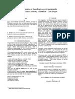 Ejercicio Algebraico - Miguel a Martinez - Ibagué