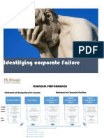 Identifying Corporate Failure